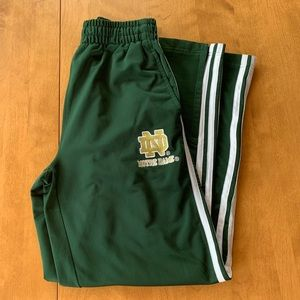 Adidas Norte Dame Sweatpants
